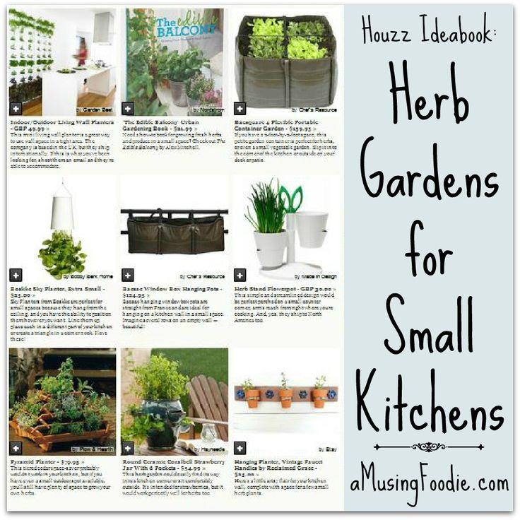 Kitchen Herb Garden Design: 17 Best Ideas About Small Herb Gardens On Pinterest