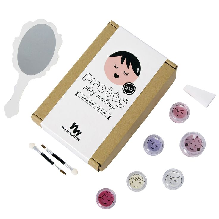 www.nonastiesmakeup.com.au   All natural Happy Hair Chalk, Fun Face Paint and Pretty Play Makeup.   Australian made and owned.  So pretty!