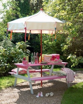 Awesome Take an ordinary picnic table and paint it in an extra ordinary way An