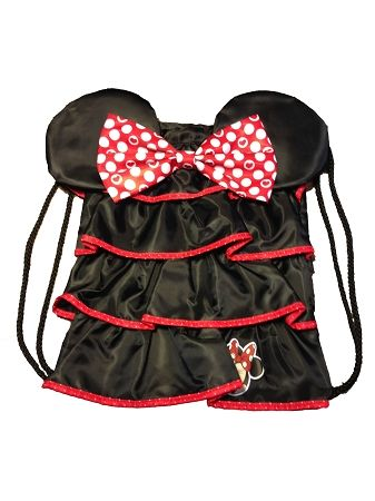 Disney Cinchsack Backpack - Minnie Mouse Ruffles with Bow