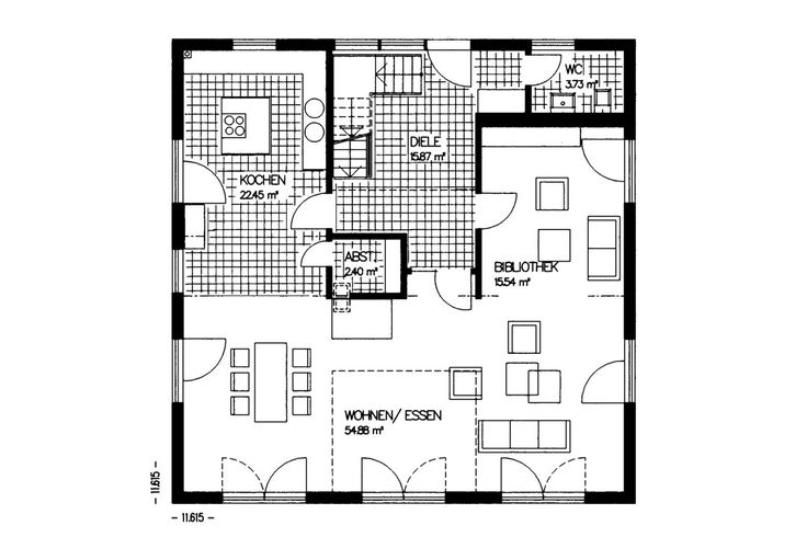 12 besten fertighaus grundrisse von bekannten hausbaufirmen bei bauratgeber deutschland bilder. Black Bedroom Furniture Sets. Home Design Ideas