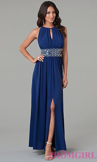 Long Sleeveless Bead Embellished Dress by Morgan 1328 at PromGirl.com http://www.promgirl.com/shop/viewitem-PD1159311