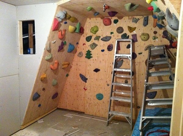 How To Build The Ultimate Home Climbing Wall Under 200 Home Climbing Wall Climbing Wall Diy Climbing Wall
