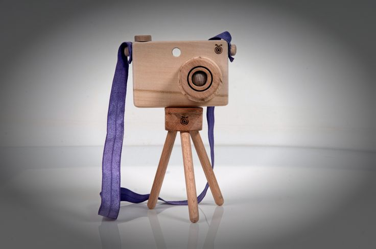 toy camera and tripod