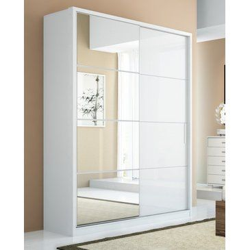 The Bellevue 2-door wardrobe, with a unique mix-and-match feature that allows you to choose the color of the frame and doors separately, is compact and takes up little space. Perfect for modern studio apartments in the city, the Bellevue 2-door wardrobe includes 5 shelves, 4 drawers and 2...
