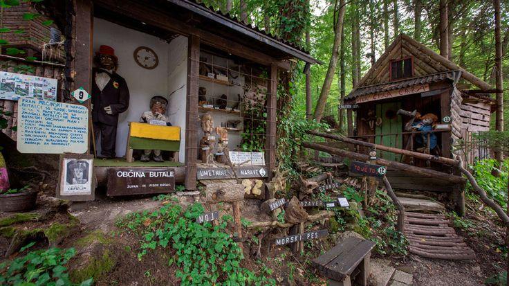 Fairytale land in Olimje