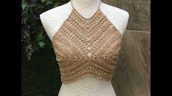Summer/ Festival Crochet Crop Top - YouTube