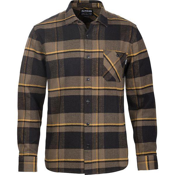 DAKINE Mens Edwin Flannel Shirt - S - Tarmac - Men's Shirts (190 BRL) ❤ liked on Polyvore featuring men's fashion, men's clothing, men's shirts, men's casual shirts, green, mens casual long sleeve shirts, mens long sleeve flannel shirts, mens green long sleeve t shirt, mens green flannel shirt and mens flannel shirts