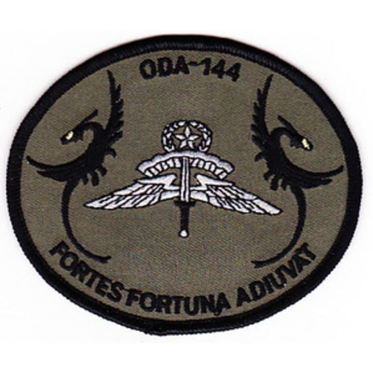 ODA-144 Patch  United States ARMY Co A 2nd Battalion 1st Special Forces Group Airborne ODA-144 Patch -