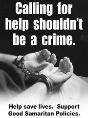 Calling for help shouldn't be a crime- in the case of drug overdose