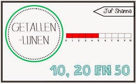 Juf Shanna: Getallenlijn tot 10, 20 en 50