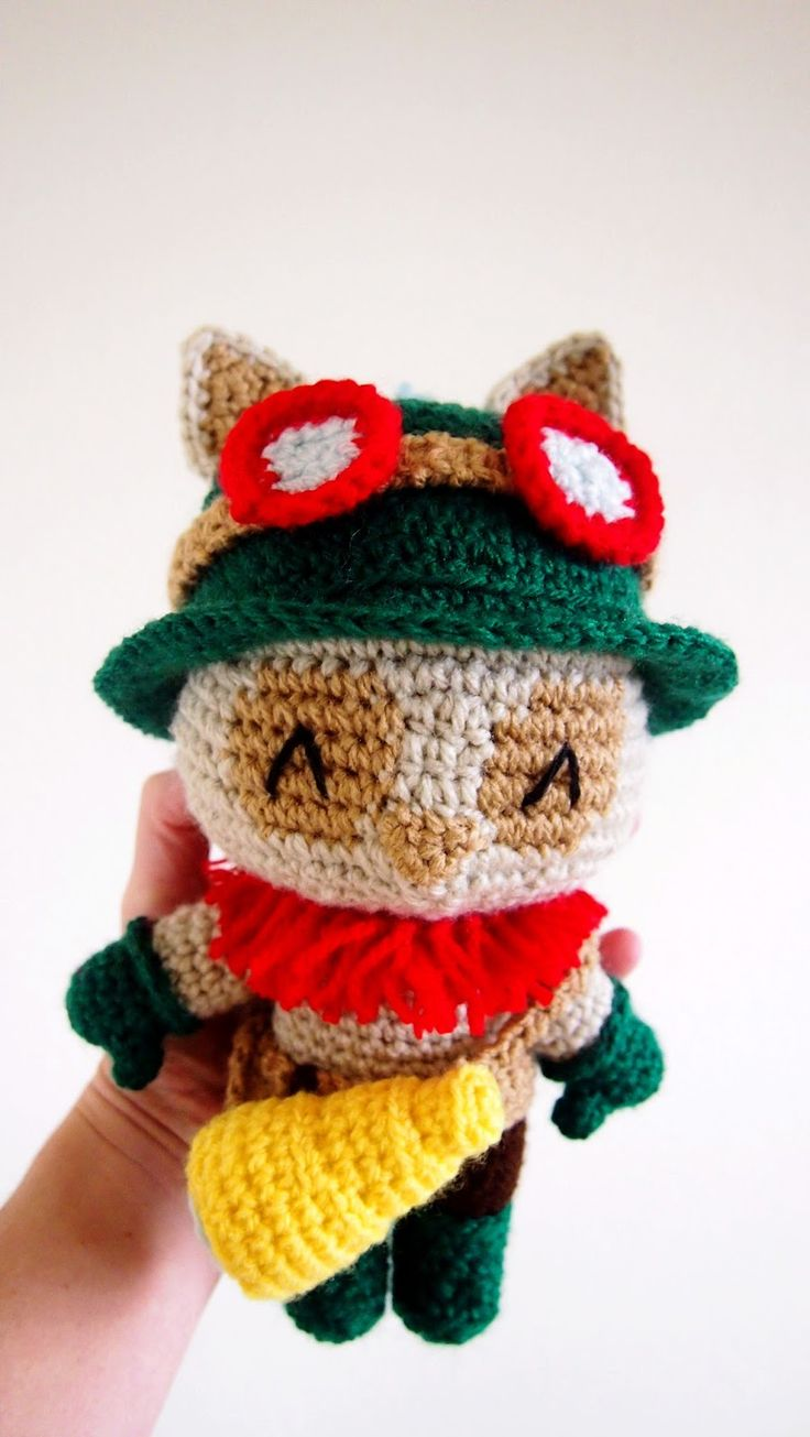 Sol de Noche {deco crochet}: Teemo of League of Legends