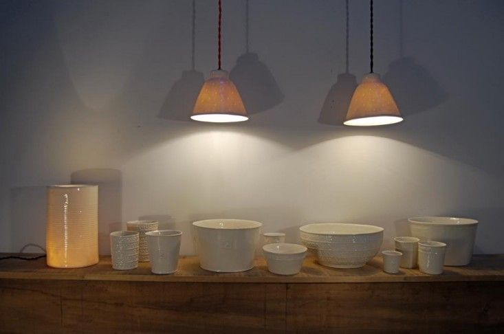 Alix D. Reynis Porcelain | Amazing porcelain lighting