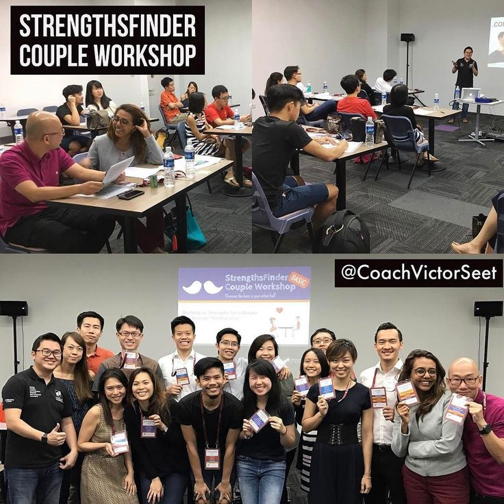Did the 2nd #Singapore #Gallup #StrengthsFinder #Couple #Workshop for 2017 in #ChinaSquare. It was a great evening personally. Among the participants I had a couple of close friends who signed up for the course and it was really nice to have them around. There were a few who were referred by couples who attended the previous session in February. So I'm thankful for the success of the last workshop and the publicity by word of mouth. Quite a few of the couples were really new to…