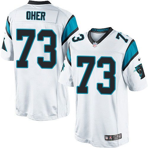 c917574f1 24.99 Nike Limited Michael Oher White Mens Jersey - Carolina Panthers 73 NFL  ...