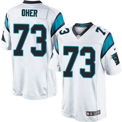 c917574f1 24.99 Nike Limited Michael Oher White Mens Jersey - Carolina Panthers 73 NFL  ...