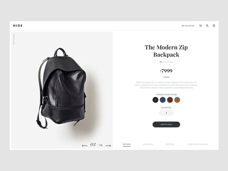 Hide Product Page by Vivek Ravin