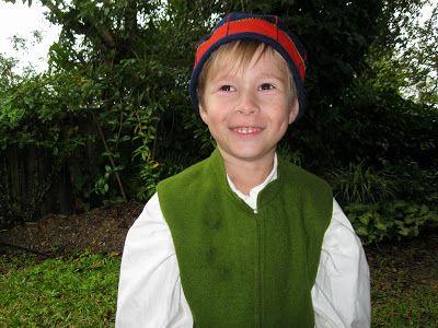 Boy's costume from Mora, Dalarna, Sweden