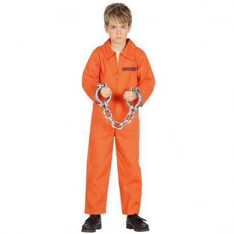 Envíos en 24h desde 2,99€ GRATIS a partir de 60€. Disfraz de Presidiario para Niño. Tienda de disfraces online. Disfraces Originales. Disfraces baratos.