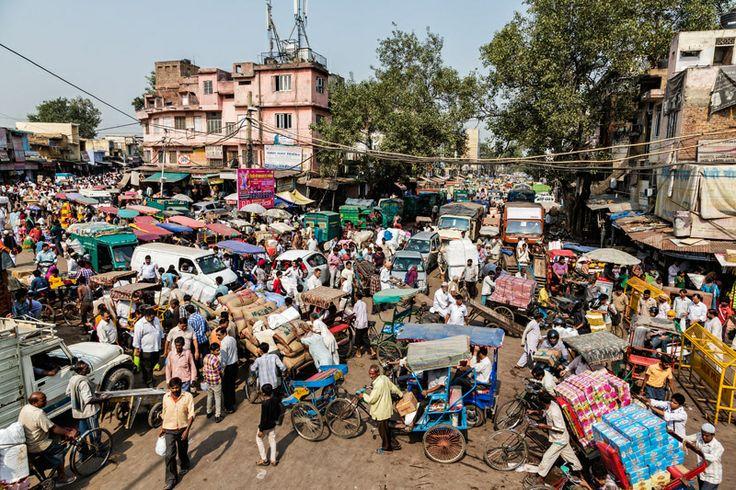Traffic Congestion at Chadni Chowk