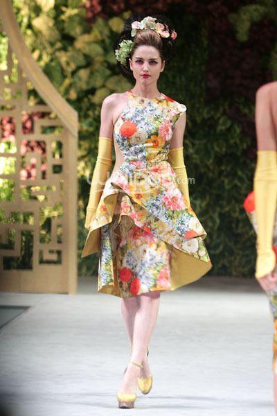 #dress by Sebastian Gunawan