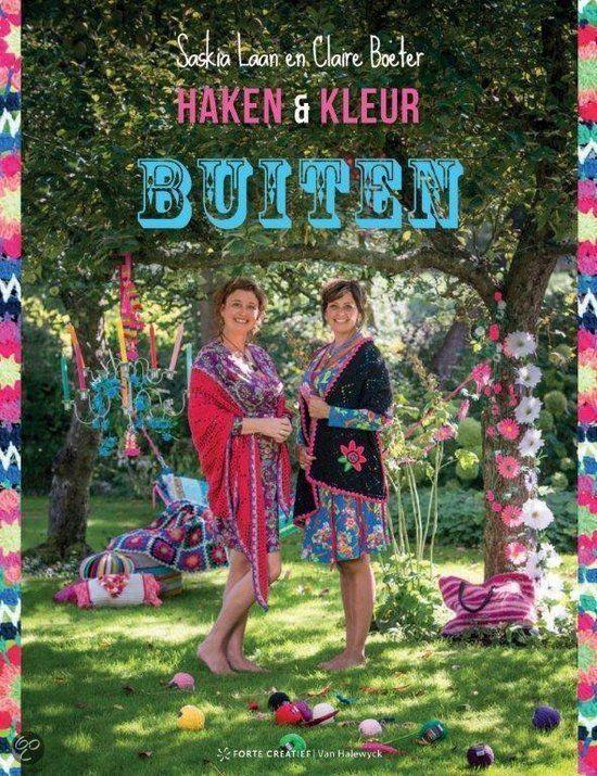 """Crochet book / Haakboek """"Haken & Kleur Buiten"""" - TO COME..."""