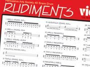 drum rudiments chart | files of each of the 40 rudiments, exercises that apply the rudiment ...