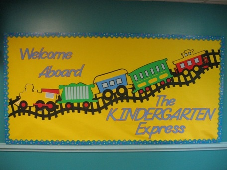 Welcome Aboard Train Bulletin Board ---- now I really want the Expression