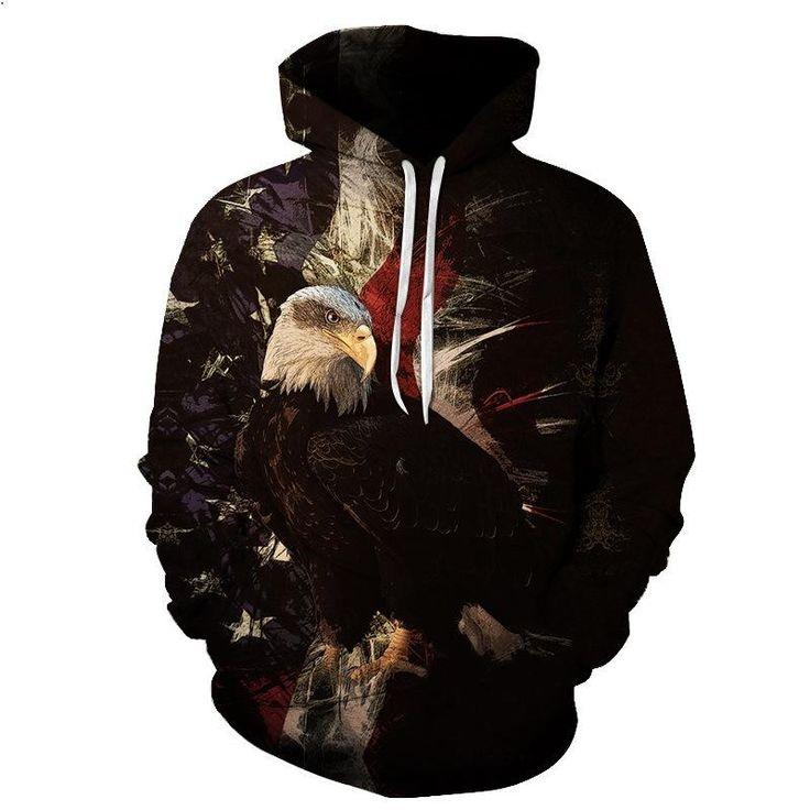 2017 Americn Eagle USA Hoodie V1
