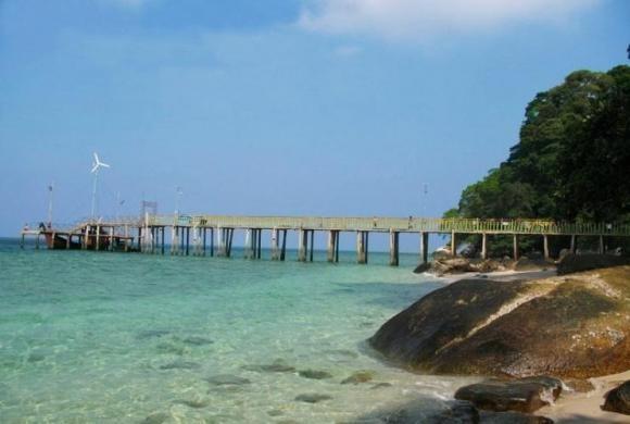 Berhala Island, Jambi, Indonesia