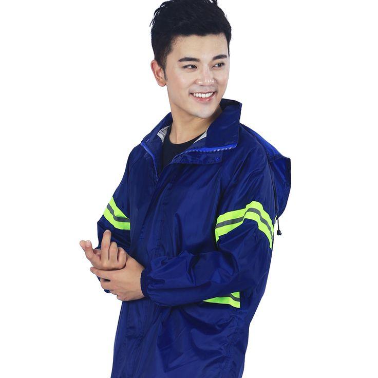 Rain Poncho Rincoat Motorcycle Rainwear PVC Cloak Chubasquero Awning Capa De Wiche Layer Outdoor Raincoat Waterproof DDGZ91 #Affiliate
