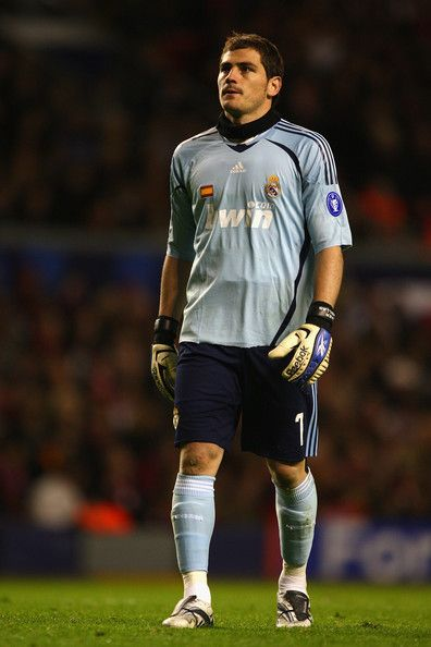 Iker Casillas - Liverpool v Real Madrid - UEFA Champions League
