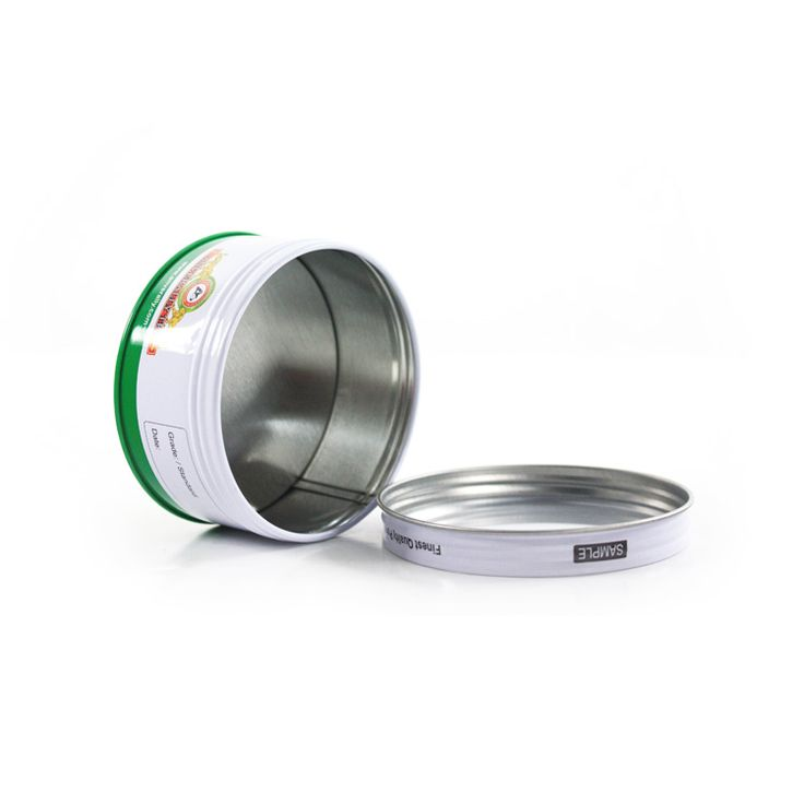 """This Round Chocolate Screw Lid Tin is with a clear PVC window, best show the chocolate inside. Its size is Dia.86x44mmH (Dia.3.39x1.73""""), and made of eco-friendly and durabl"""
