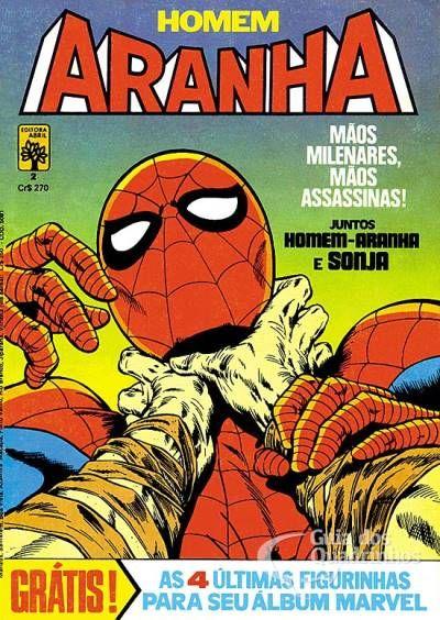 Homem-Aranha n° 2 - Abril