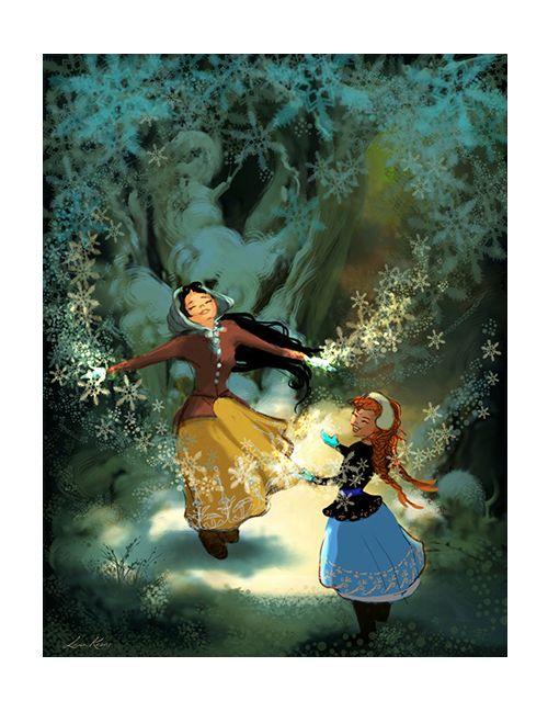 Frozen Concept Art | Disney Original Art | Pinterest ...