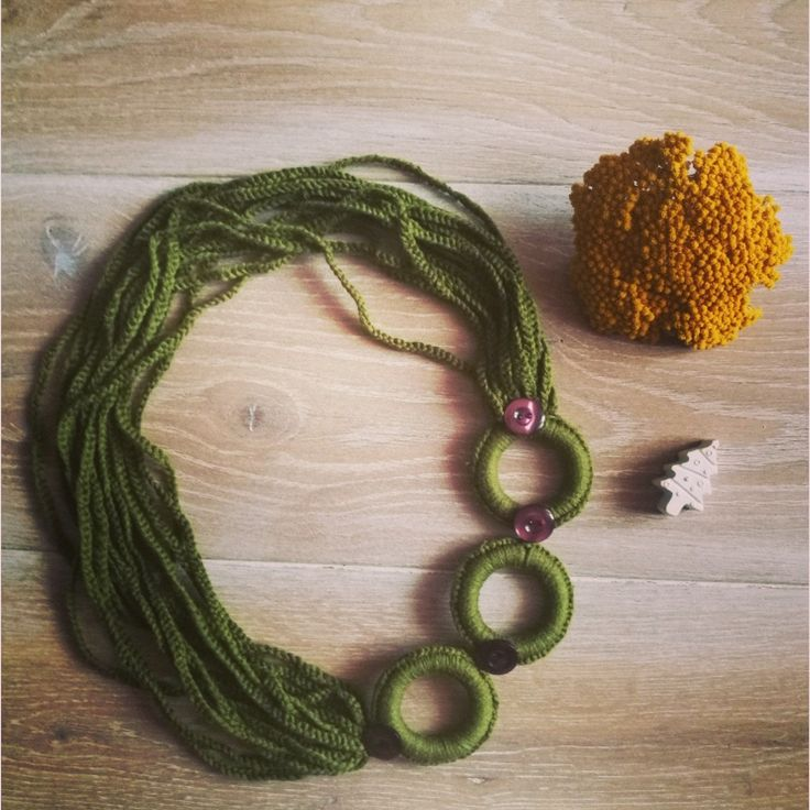 A green necklace for everyday ❤