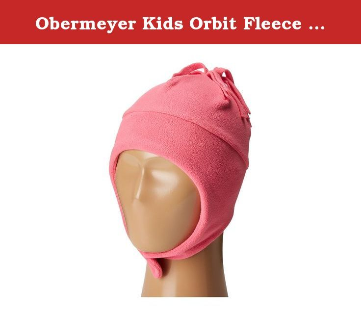 Obermeyer Kids Orbit Fleece Hat French Rose 1-4. Designed for cozy winter warmth, the Orbit Fleece Hat from Obermeyer is constructed out of 100% Polyester Fleece and features chinstraps for a secure fit. Warranty: Lifetime, Battery Heated: No, Material: Fleece, Lined: No, Type: Earflap, Model Year: 2017, Product ID: 446008, Model Number: 77002-16010-1-4, GTIN: 0888555119787.