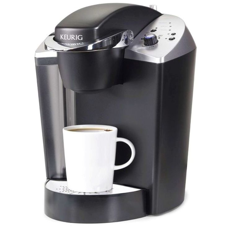 Coffee Maker Machine One Cup Personal Size Hot Brewing Adjustable Automatic  #Keurig