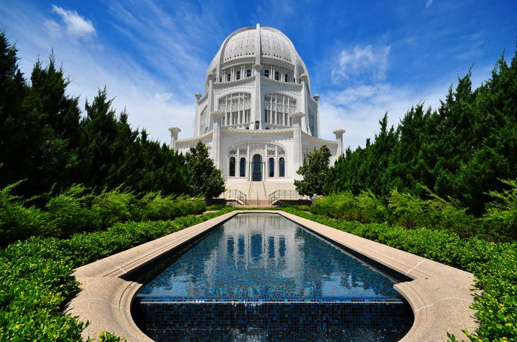 Baha'i Temple in Chicago. It's beautiful!