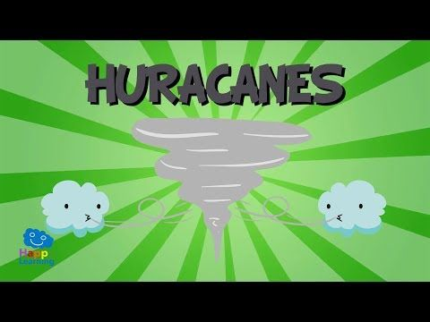 ¿Qué es un huracán? Huracanes, Tifones y Ciclones   Videos Educativos para niños. - YouTube
