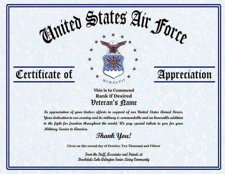 7 best veterans day images on pinterest veterans day for Veterans day certificate