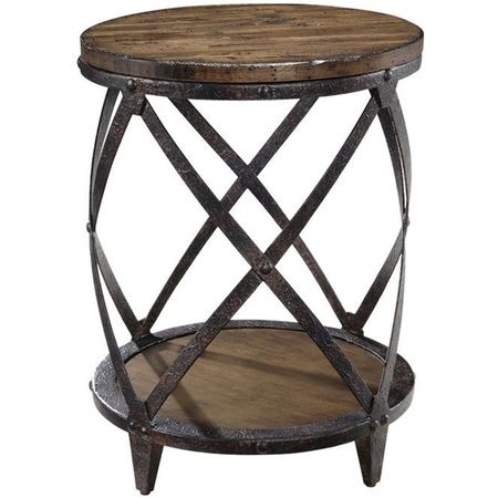 Unique rustic end table furniture pinterest for Cool side tables