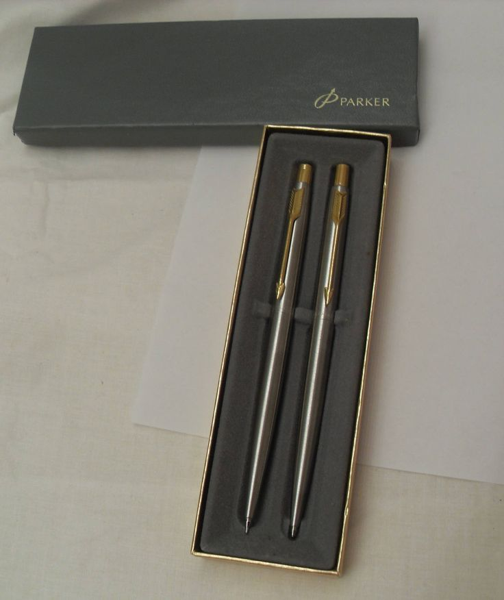 Vintage Parker Pen Pencil Set, Near mint Parker Gift Set, Vintage Office Supplies, Executive Gift Set, Gingerslittlegems by GingersLittleGems on Etsy