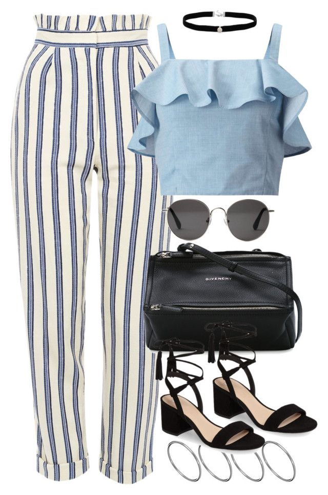 """Untitled #3792"" by plainly-marie ❤ liked on Polyvore featuring ASOS, Topshop, Miss Selfridge, Amanda Rose Collection, Givenchy, BP. and The Row"