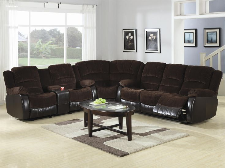 Johanna Reclining Motion Sectional by Coaster (Payless Furniture)Coaster Brand