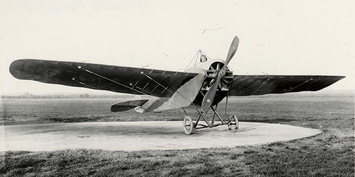 Nel 1902 primo volo aereo a motore