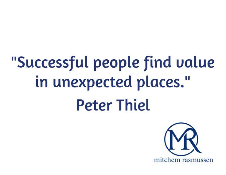 #PeterThiel on #success