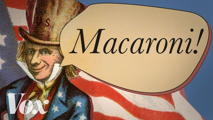 An Explanation of Why Yankee Doodle Called the Feather in His Hat 'Macaroni'