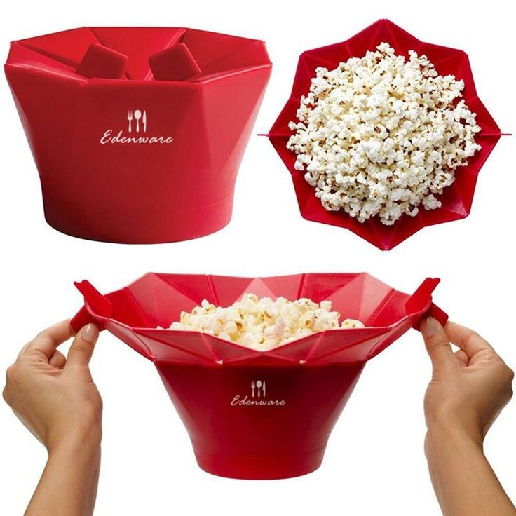 100% BPA-FREE Microwave Popcorn Maker (With images ...