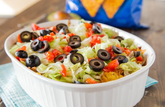 Doritos taco casserole turns taco night into a quick and easy casserole, with layers of your favorite chips. It's time to redefine the casserole, and make it something people want to eat!